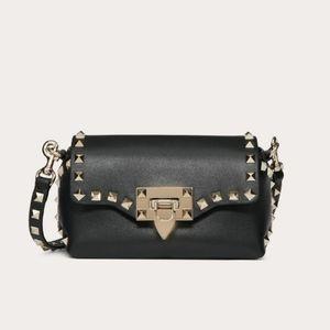 Valeninto Mini Rockstud Leather Bag
